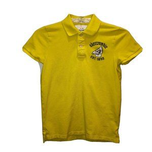 Abercrombie Kids Yellow Muscle Fit Polo Shirt